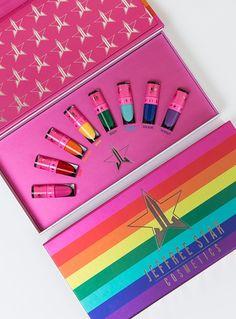 Jeffree Star Cosmetics Mini Equality Bundle Women's FashionDressJumpsuits and Ro… Lipstick For Fair Skin, Lipstick Art, Lipstick Colors, Liquid Lipstick, Lipsticks, Star Makeup, Eye Makeup Tips, Makeup Inspo, Beauty Makeup