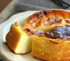 French flan (I added about 1 1/2tsp of vanilla... and then after baking broiled the top. Use 2 miniature cheesecake pans