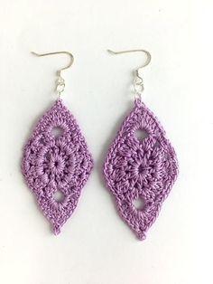 Leaf Crochet Earrings