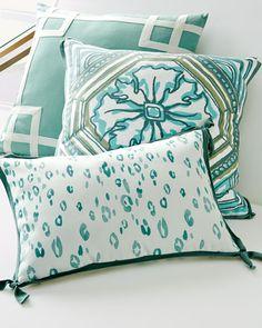 -6AZ1   Surf Reversible Leopard Outdoor Lumbar Pillow Surf Tile Reversible Outdoor Pillow Surf Rio Outdoor Pillow
