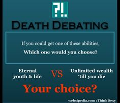 Death Debating #15 :: Websipedia : Think Sexy