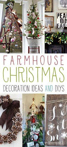 Farmhouse Christmas Decoration Ideas and DIYs - The Cottage Market