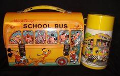 Walt Disney School Bus lunch box