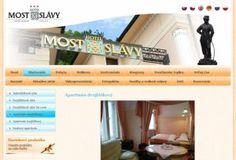 hotelmostslavy.sk Graphic Design, Visual Communication