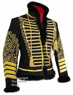 British Hussar Uniform Coat