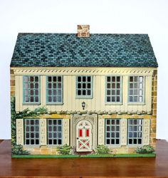 Vintage Metal Dollhouse~~