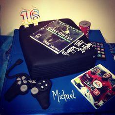 Yummy Playstation Cake