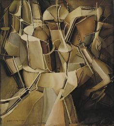 The Passage from Virgin to Bride -   Marcel Duchamp (American, born France. 1887-1968)