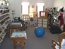 play therapy rooms | Play Therapy Room filled with inviting toys and activities