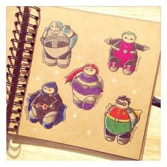 Teen Titans - Baymax Edition by DeeeSkye