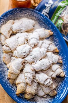 My Mother is famous for her Rugelach Recipe! These walnut-cranberry-apricot rugelach cookies are soft, crumbly, flaky, loaded! They always disappear fast! | natashaskitchen.com
