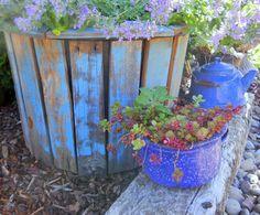 More Pallet Board & Nursery Pot Planters
