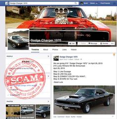 Posts currently being distributed on Facebook claim that you can win a 1970 Dodge Charger just by liking and sharing a post, adding a comment stating what colour car you would like should you win, and liking the Page the post originates from.