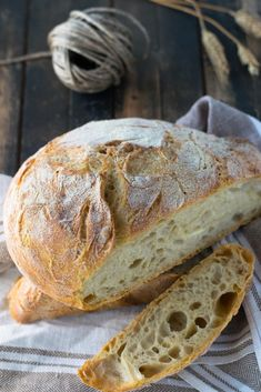 Ciabatta, Naan, Bread Recipes, Cooking Recipes, Jim Lahey, Biscotti, Italian Recipes, Recipies, Food Porn