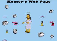 Los Simpson predicen tumblr Homer web page
