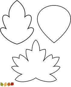 Leaves Banner Template for Thanksgiving Tree