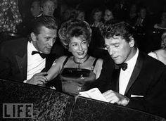 Kirk Douglas and Burt Lancaster