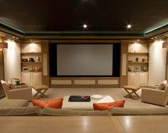 interior decorator media room - Google Search