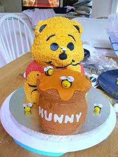 Winnie the pooh cake 6 by tburwinkle, via Flickr