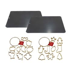 Kaiser Bakeware Holiday Cookie Sheets/Cutters Baking Set