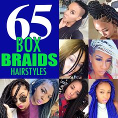 65+Box+Braids+Hairstyles+for+Black+Women