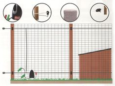 Add a strand of electric wire top and bottom of an existing chicken run to further deter foxes. The existing mesh is connected to earth and remains safe to touch - its only when both the mesh run or the ground and either of the hot wires are touched that the fence will deliver a shock.