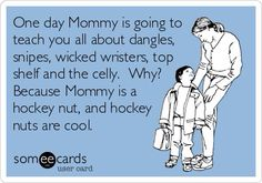 From Facebook's, Real Women Love Hockey! Parenting, you're doing it right.