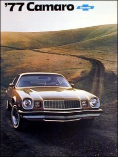 1977 Camaro Type LT - This was the 1st car I owned but with t-tops!!