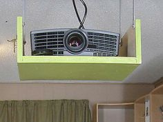 DIY Project Ceiling Mount | Creative Projector Mounting ...