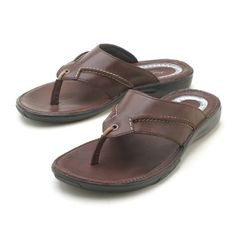 418f967eba20 Kenneth Cole - Brown Thong Sandal Slipper Sandals