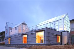 House in Yamasaki is an Energy Efficient and Naturally Daylit Greenhouse Home | Inhabitat - Green Design, Innovation, Architecture, Green Building