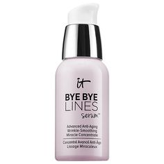 IT Cosmetics - Bye Bye Lines Serum™ Advanced Anti-Aging Wrinkle-Smoothing Miracle Concentrate #sephora