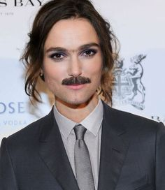 Celebrity Gender Swap Photos: Keira Knightley