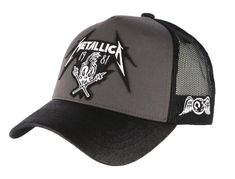 Casquette Metallica Von Dutch Damage Noire et Grise Metallica, Hard Rock, Von Dutch, Hats For Men, Cap, Adidas, Luxury, Doors, Vintage