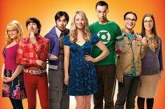 big bang theory group cast