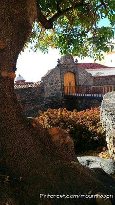 historical fortress in Santa Cruz de la Palma, Canarias Islands