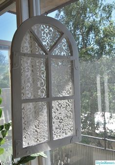shabby chic, rustic, white and worn, window, lace