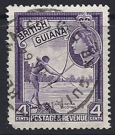 British-Guiana-4c Stamp Book, British Guiana, Stamp World, Crown Colony, Postage Stamps, Great Britain, South America, Envelopes, Postcards