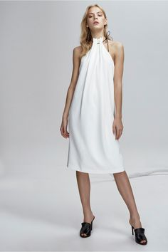 FINDERS KEEPERS MARCEL DRESS white