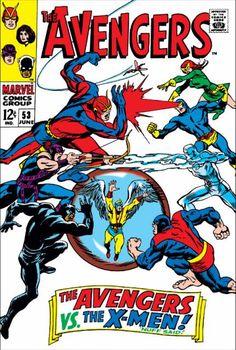 The Avengers Volume Comic Vine Comics Marvel Comics Covers Avengers