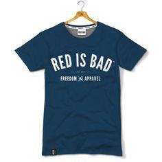 Red is Bad - Freedom Apparel - granatowa