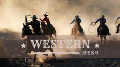 Party-Extra Western Deko BAnner
