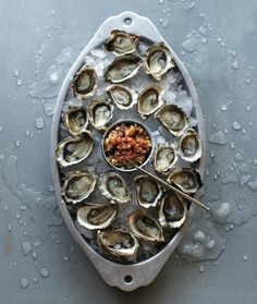 This week, we're spotlighting recipes from Oysters: Recipes that Bring Home a Taste of the Sea by Cynthia Nims (Sasquatch Books), a Seattle-based cookbook author. Try making the recipe at home and let us know what you think!