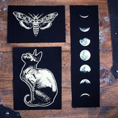 patches from Poison Apple Printshop