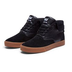 SUPRA PASSION | BLACK / WHITE - GUM | Official SUPRA Footwear Site