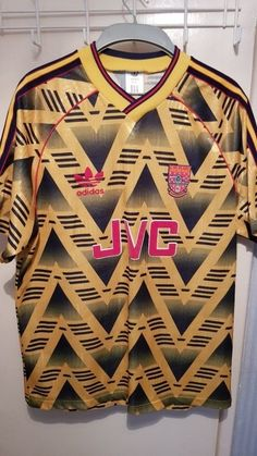 Arsenal football shirt 1991-1993 AWAY