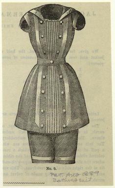 Costume -- Bathing -- 1800s