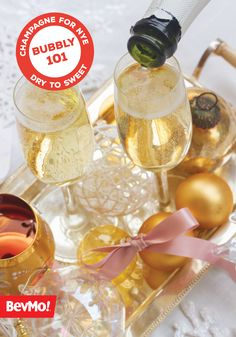 Bubbly, champagne, prosecco, cava—whichever you prefer, this Sparkling Wine 101 Guide from BevMo! has it all. Find the perfect effervescent beverage for popping just in time for the holiday season.