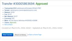 If you are a PASSIVE INCOME SEEKER, then AdClickXpress (Ad Click Xpress) is the best ONLINE OPPORTUNITY for you.I WORK FROM HOME less than 10 minutes and I manage to cover my LOW SALARY INCOME. Here is my Withdrawal Proof from AdClickXpress. I get paid daily and I can withdraw daily. Online income is possible with ACX, who is definitely paying