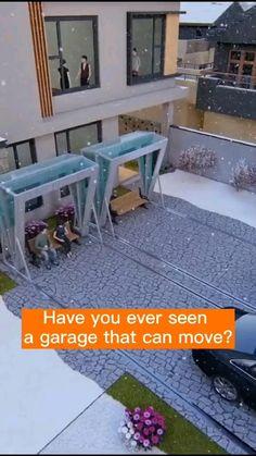 Garage Room, Garage Bar, Garage Storage, Modern Landscape Design, Modern Home Interior Design, Luxury Home Decor, Classic House Exterior, Modern Exterior, Car Shed